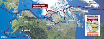 Arktis-Nordwestpassage