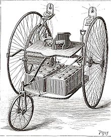 1882 Ayrton & Perry Electric Tricycle