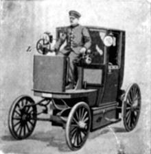 Elektrische Droschke, Höchstgeschwindigkeit: 25 km/h