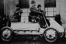 Der Allrad-Rennwagen von Lohner-Porsche 1900